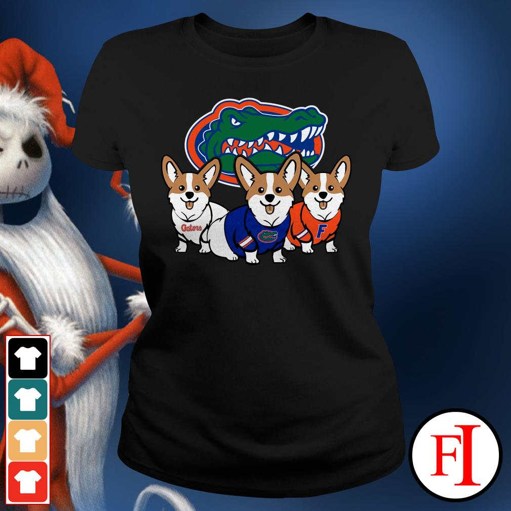Florida Gators and Corgi Ladies Tee