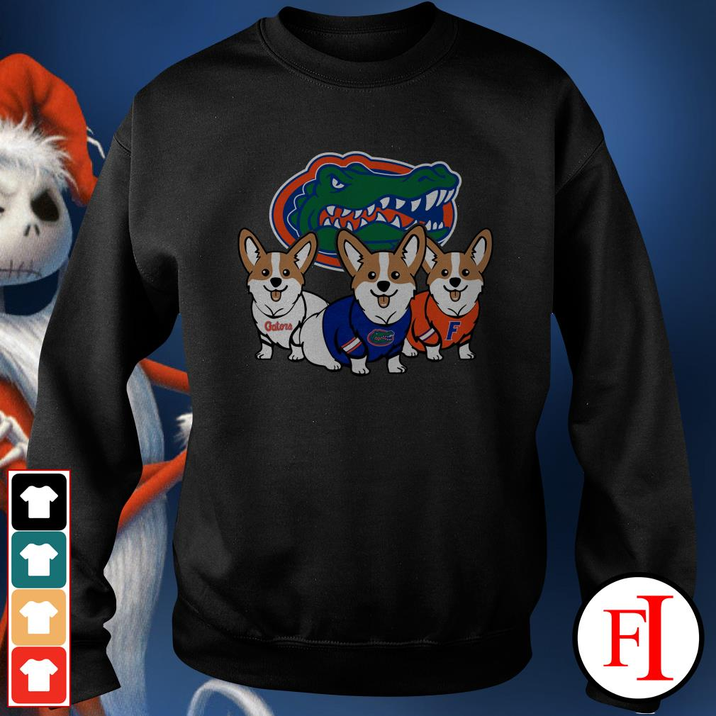 Florida Gators and Corgi Sweater