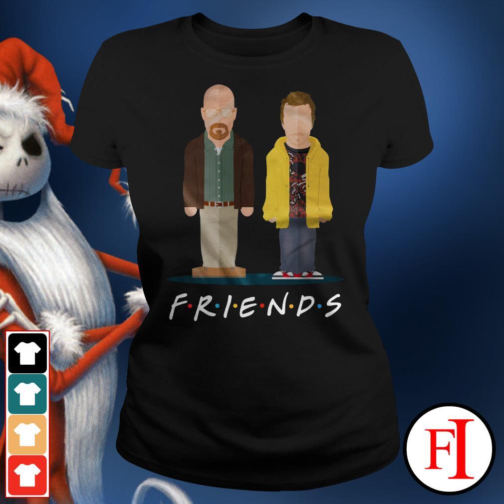 Friends TV show Breaking Bad Ladies Tee