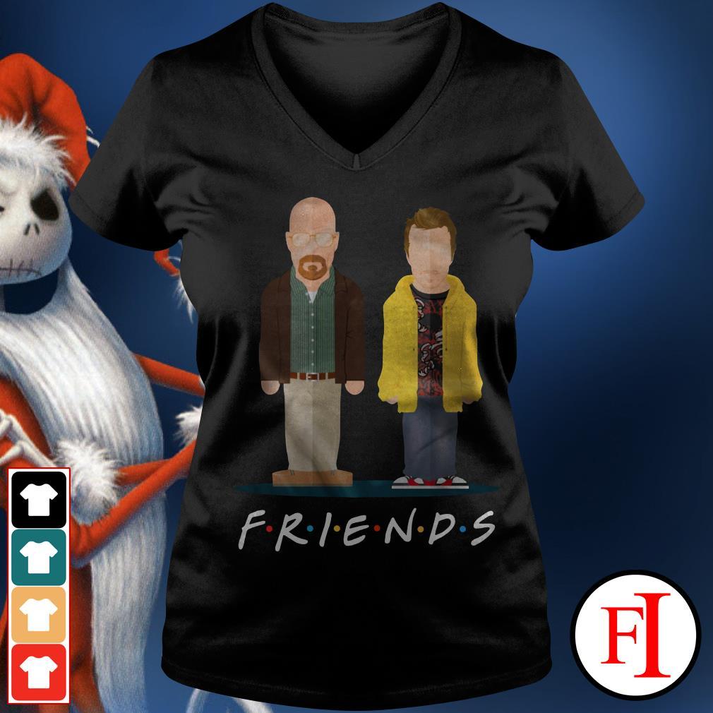 Friends TV show Breaking Bad V-neck t-shirt