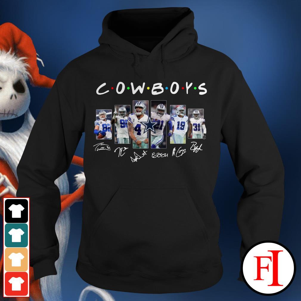 Friends TV show Dallas Cowboys signatures Hoodie