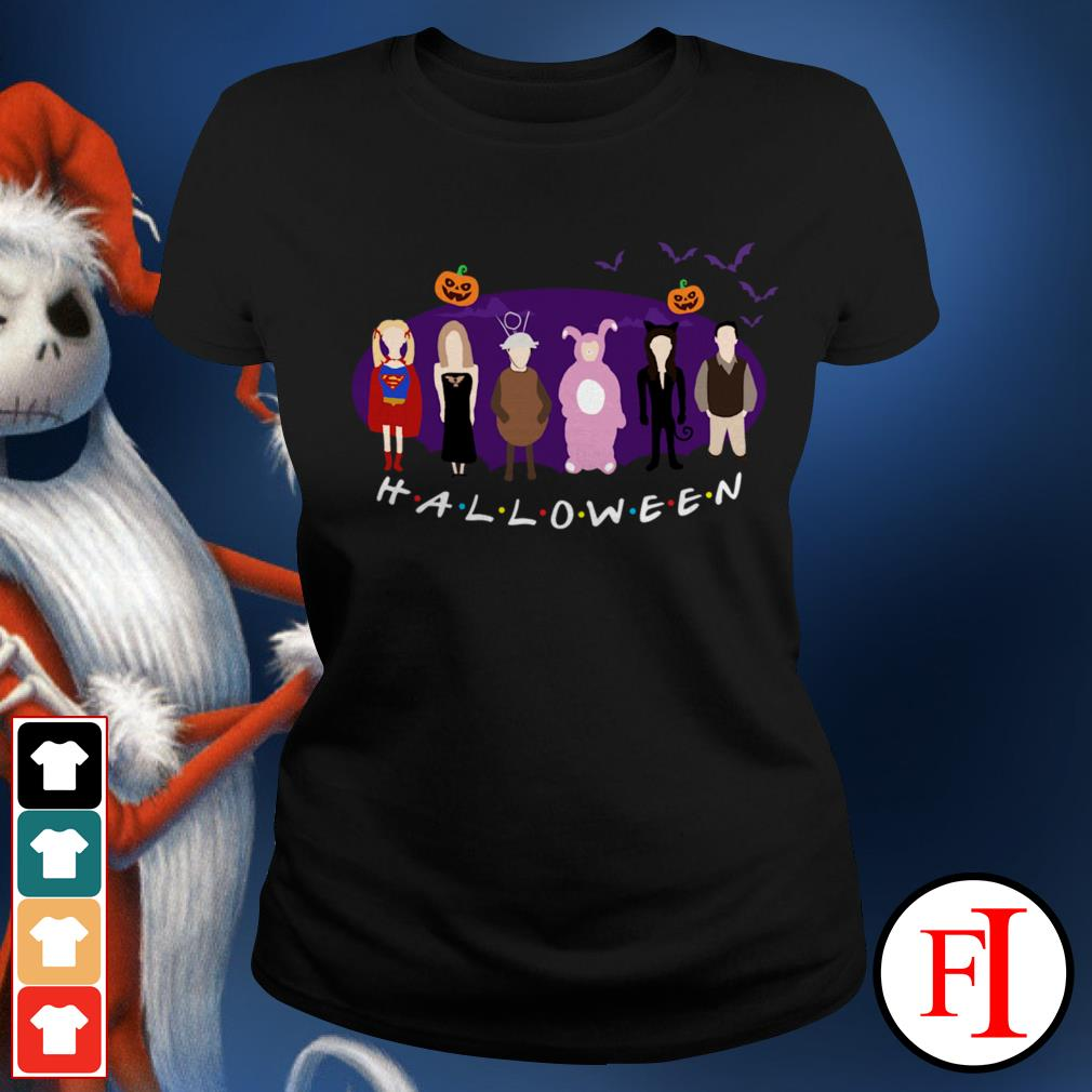 Friends TV show The One with the Halloween Party Ladies Tee