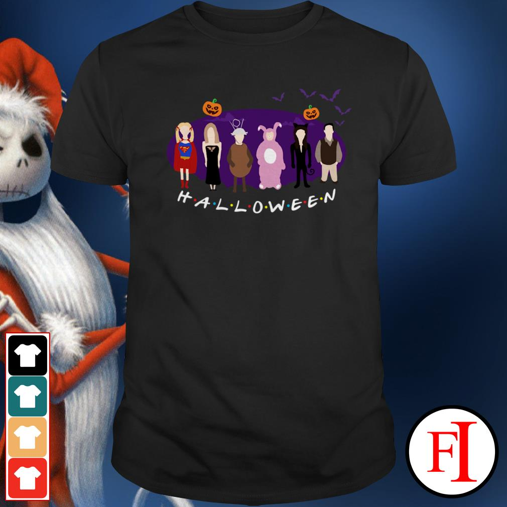 Friends TV show The One with the Halloween Party Shirt