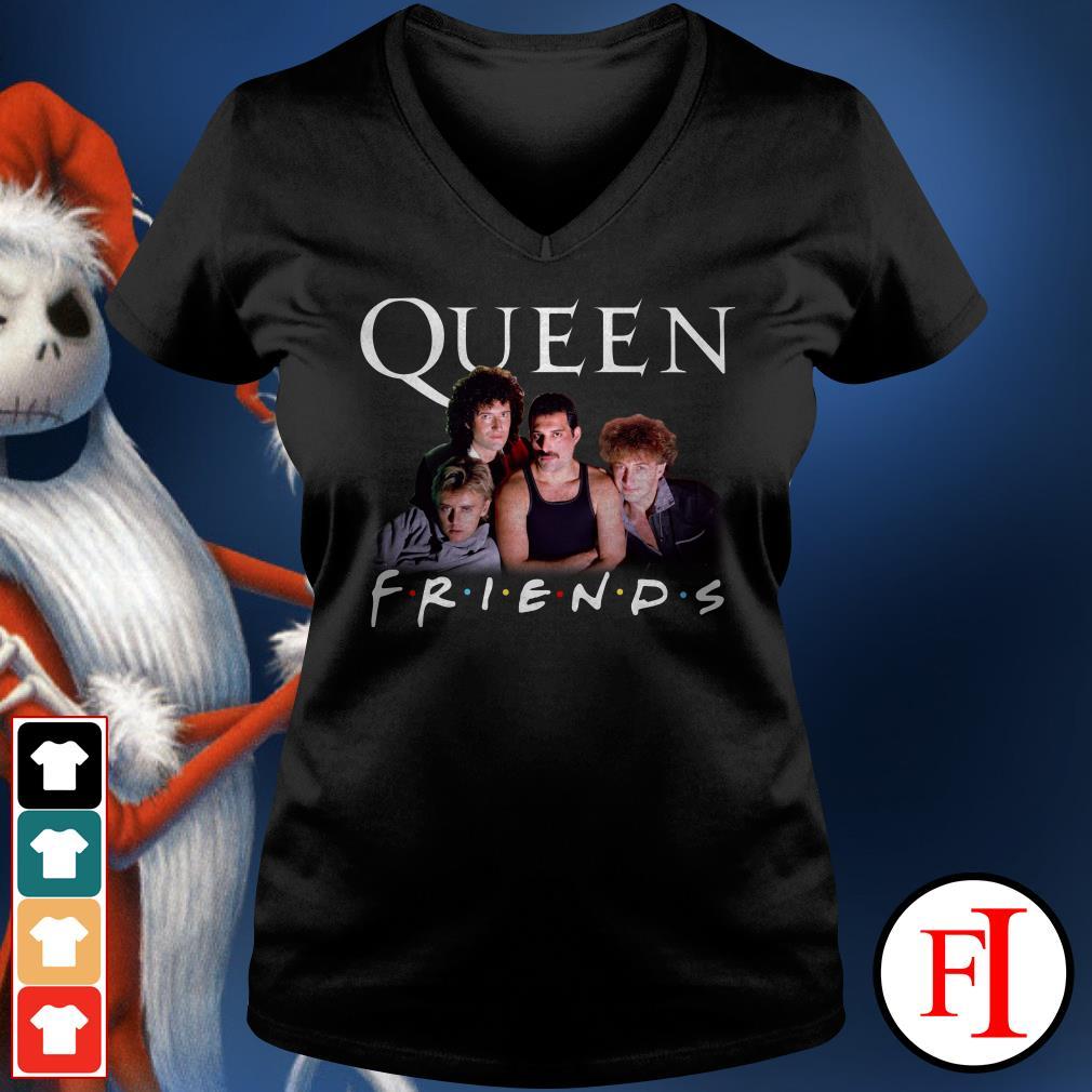 Friends TV show Queen V-neck t-shirt