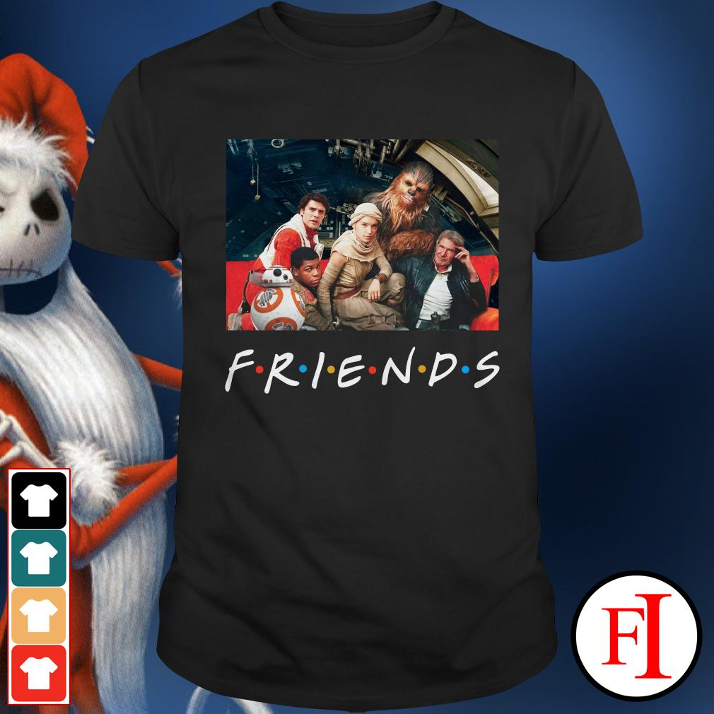 Friends TV show Star Wars Shirt