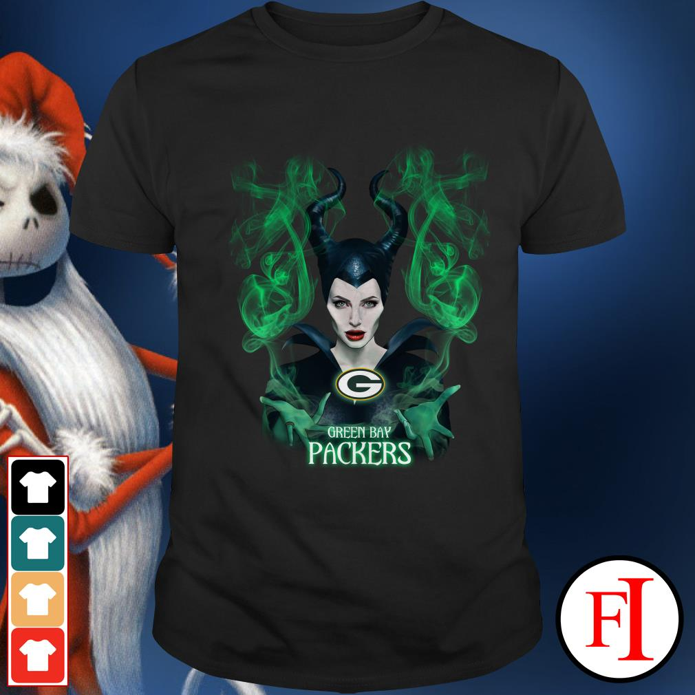 Green Bay Packers Maleficent Shirt