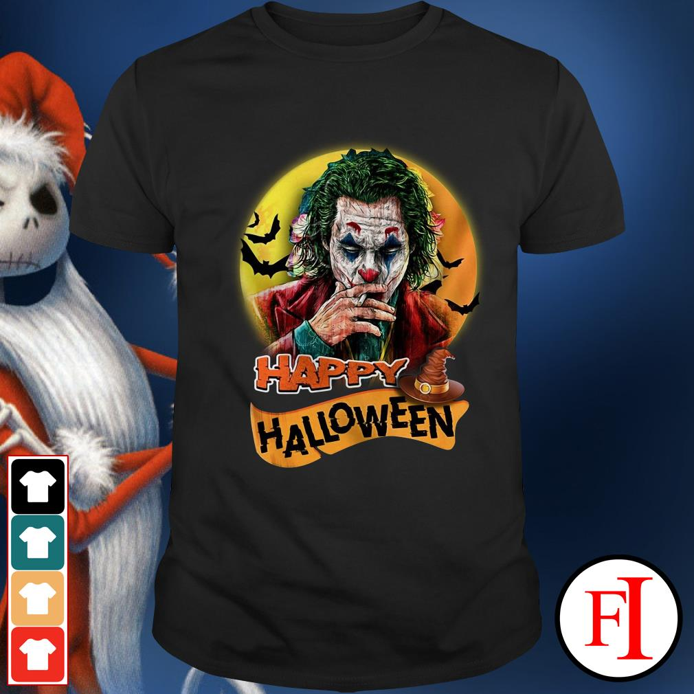 Happy Halloween Joker Joaquin Phoenix Shirt