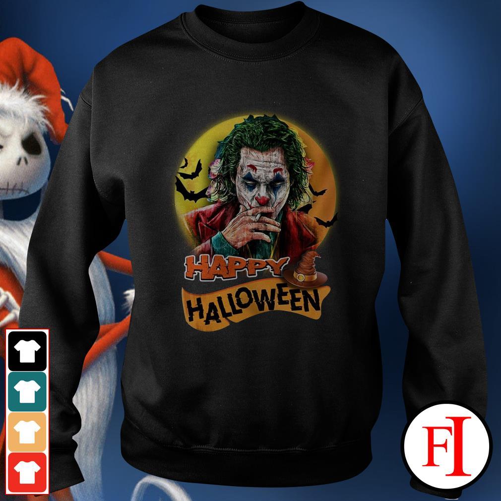 Happy Halloween Joker Joaquin Phoenix Sweater