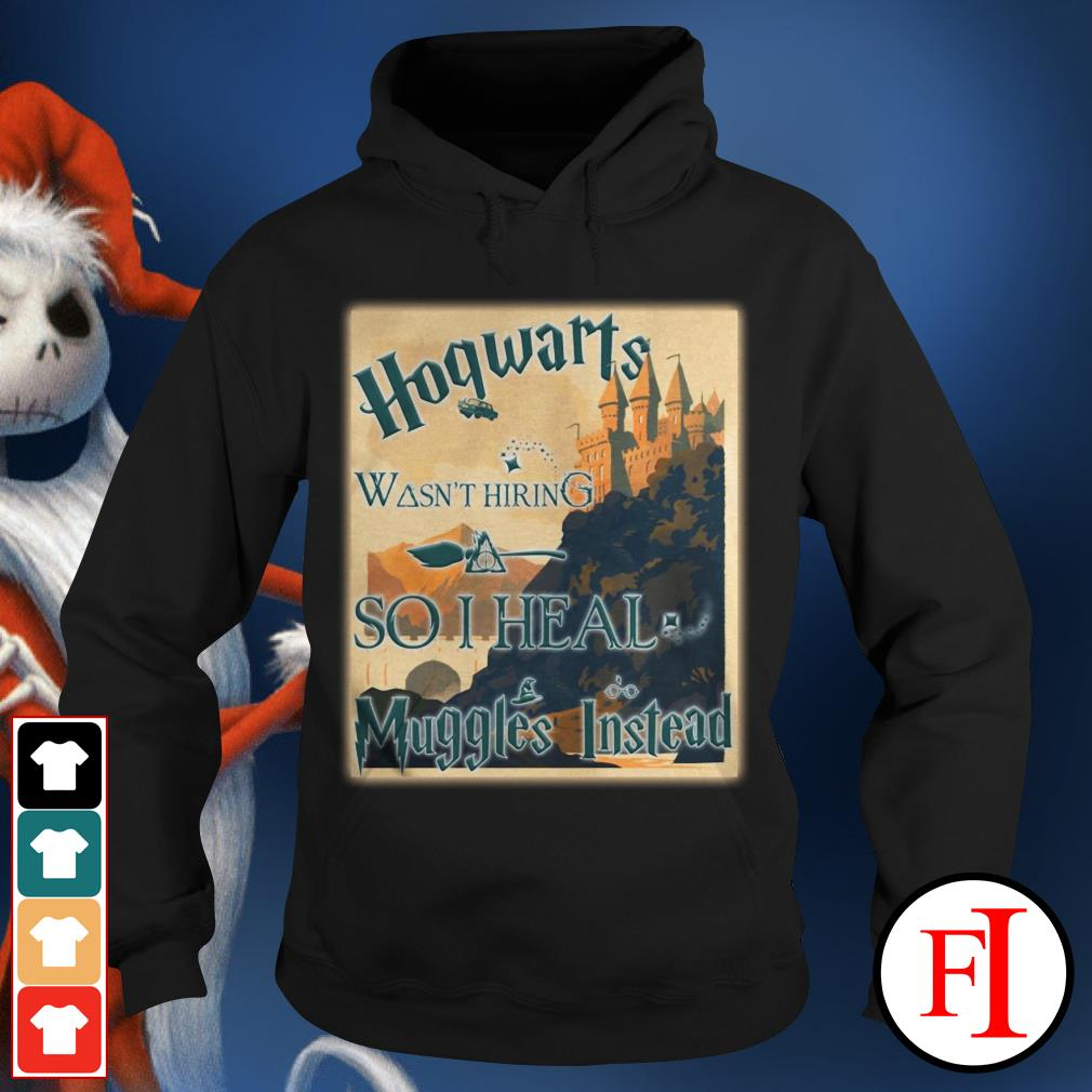 Harry Potter Hogwarts wasn't hiring so I heal muggles instead Hoodie