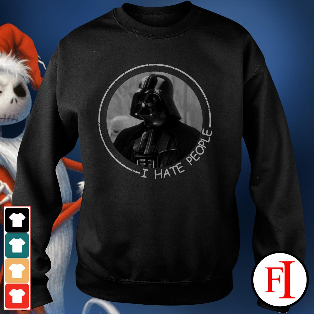I hate people Darth Vader Sweater