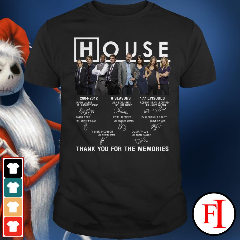 House 2004-2012 thank you for the memories Shirt