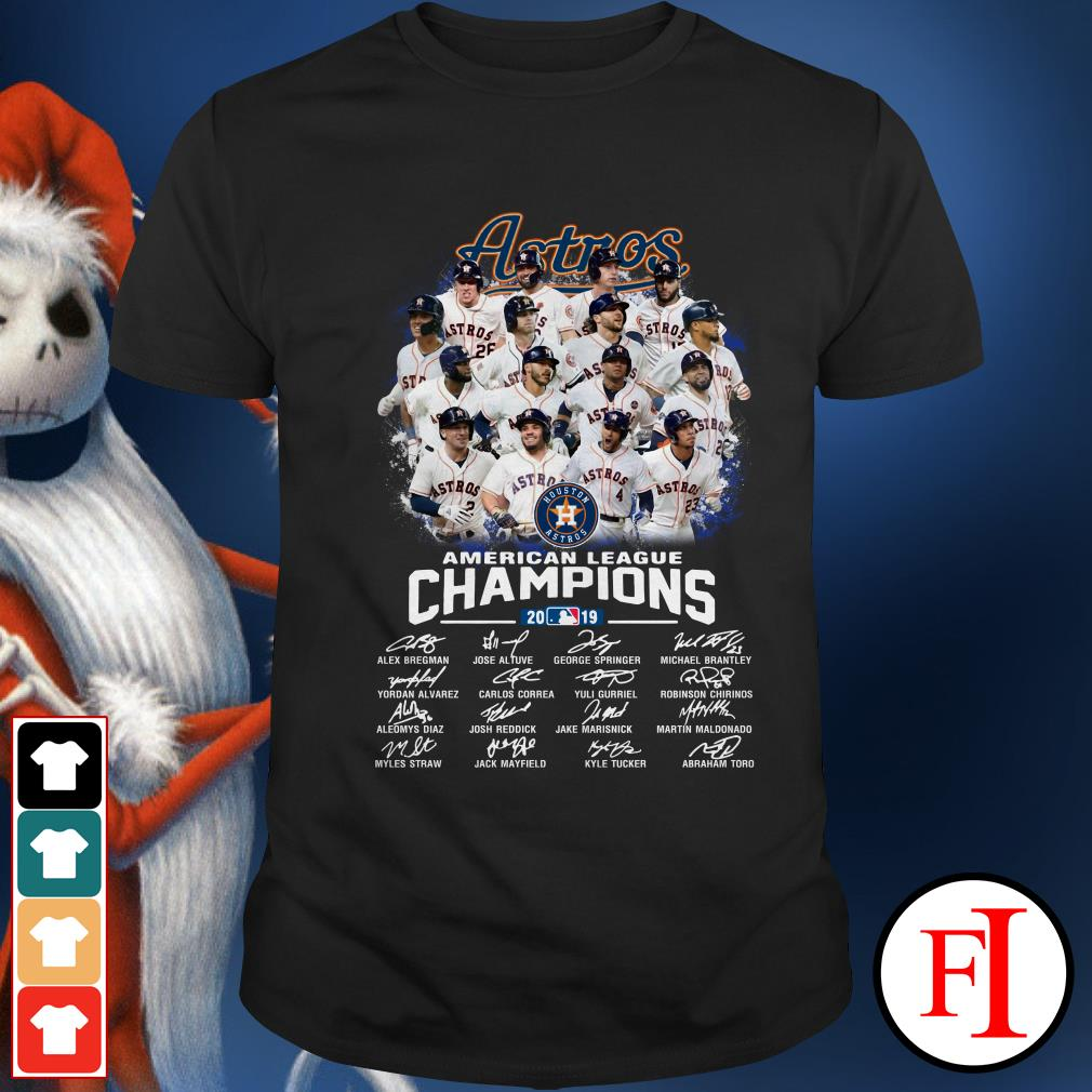 Houston Astros American League Champions 2019 Shirt