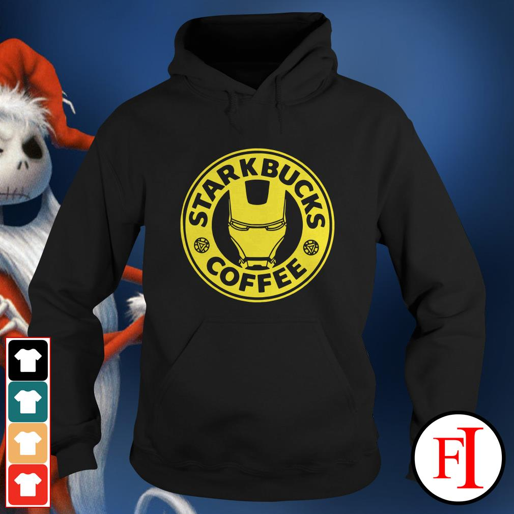 Iron man Starkbucks Coffee Hoodie