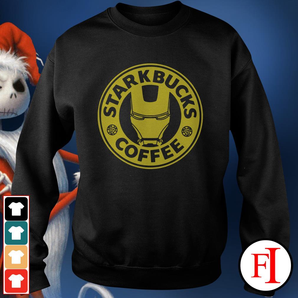 Iron man Starkbucks Coffee Sweater