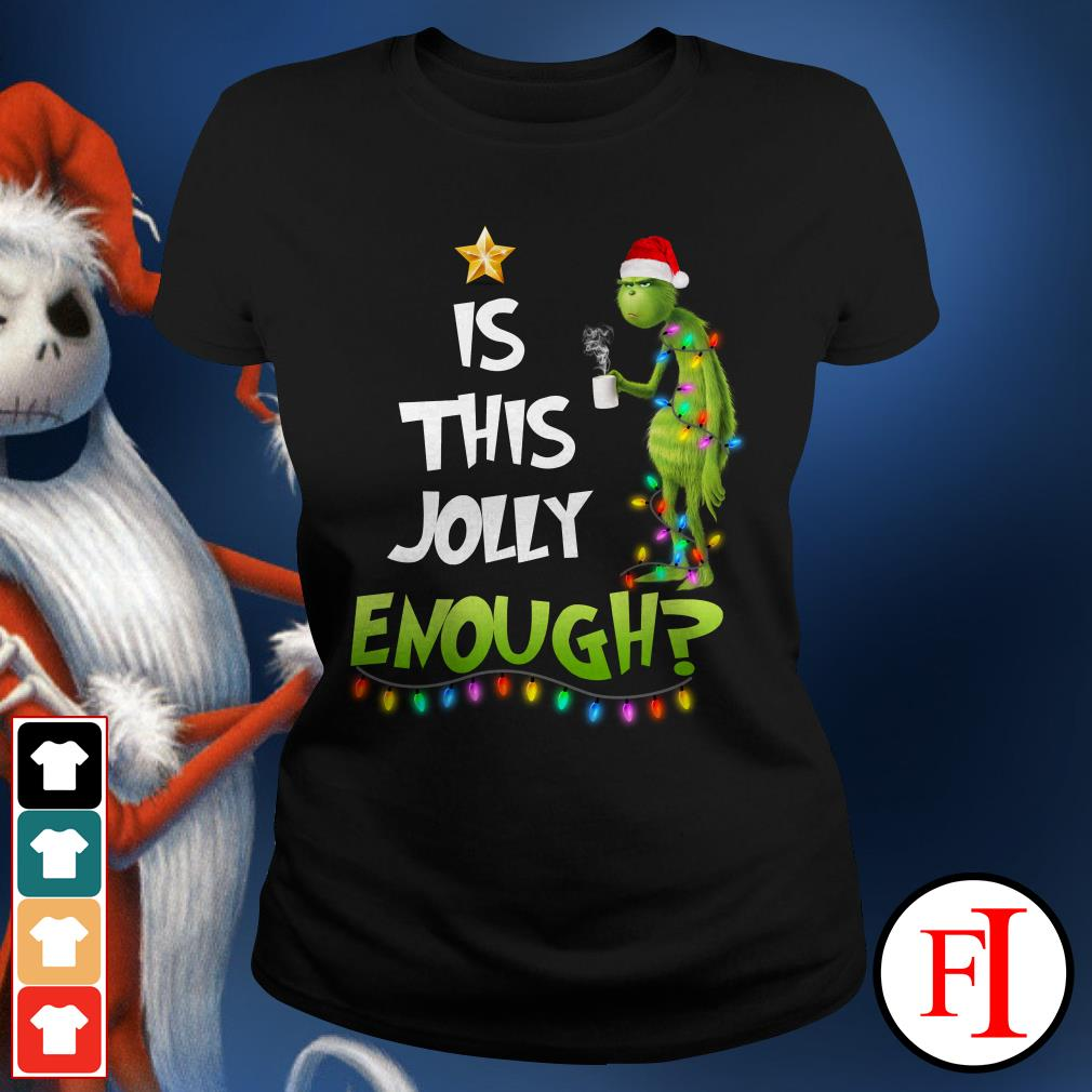 Is this jolly enough Stitch Ladies Tee