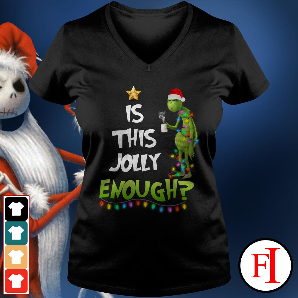 Is this jolly enough Stitch V-neck t-shirt