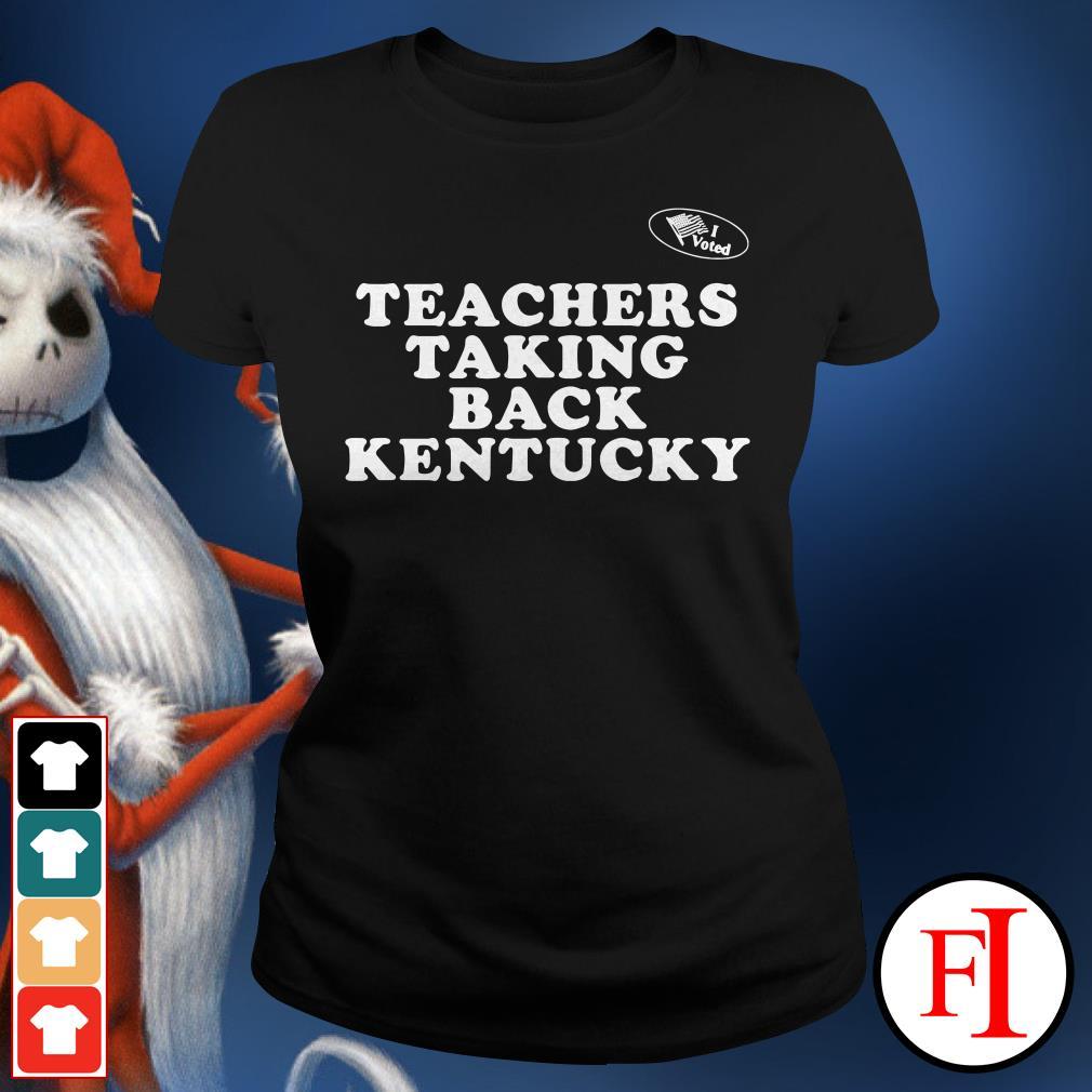 Kentucky Teachers taking back Ladies Tee