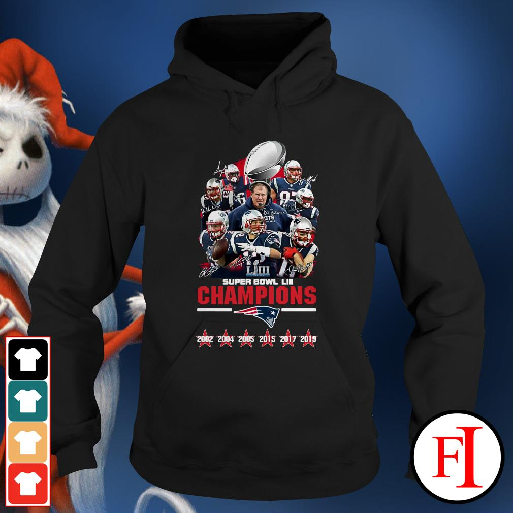 LIII champions New England Patriots super bowl Hoodie