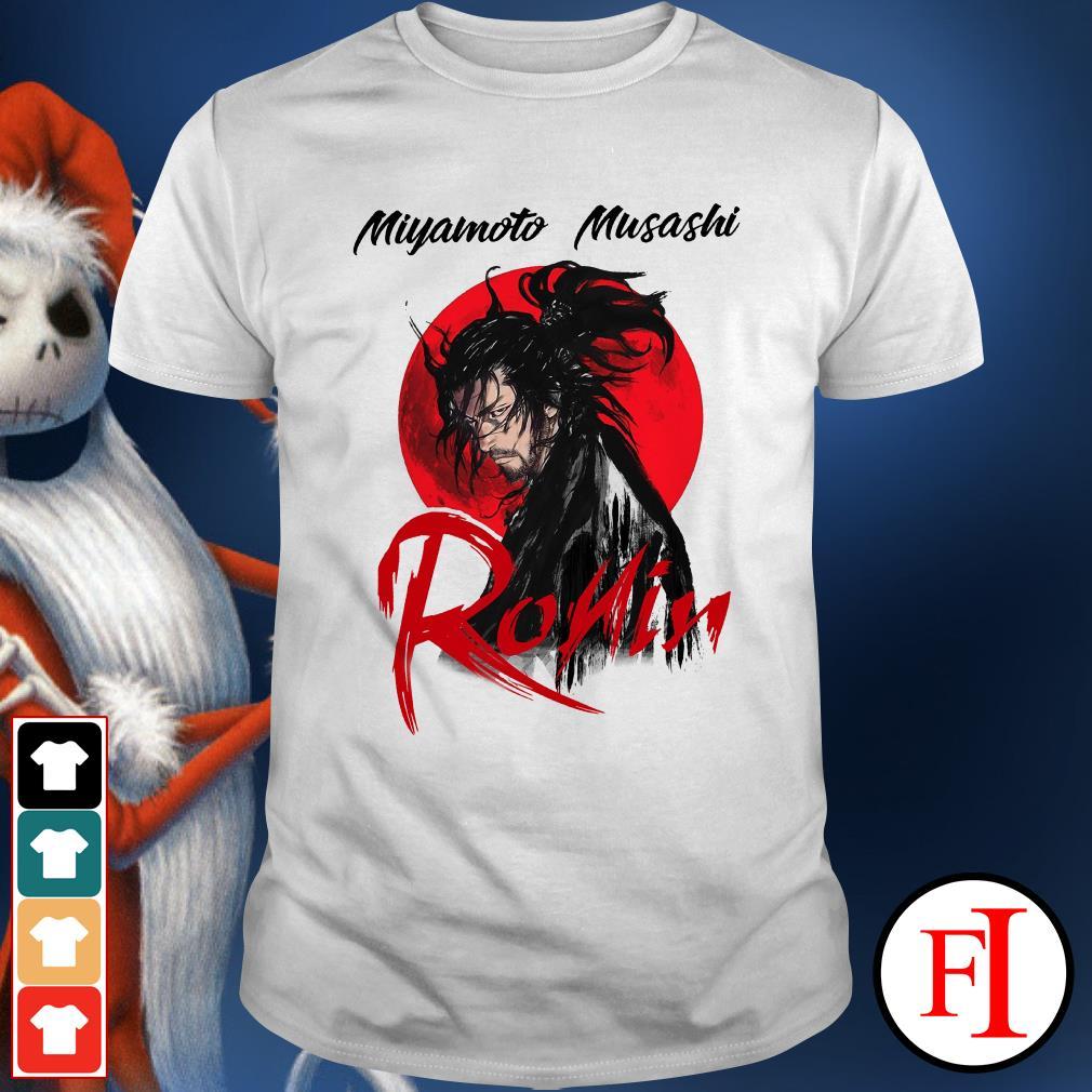 Musashi ronin Red moon Miyamoto Shirt