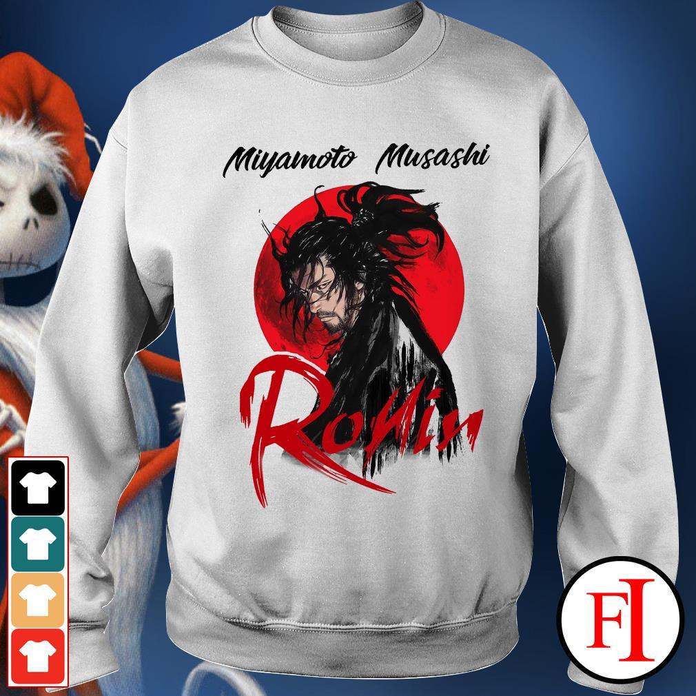 Musashi ronin Red moon Miyamoto Sweater