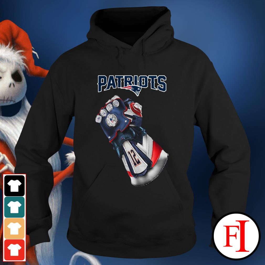 New England Patriots Infinity Gauntlet Hoodie