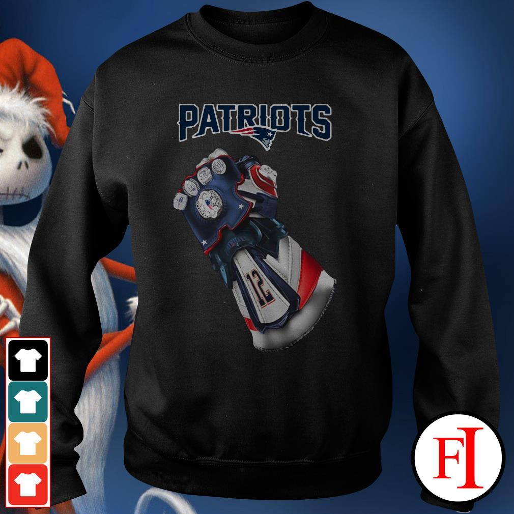 New England Patriots Infinity Gauntlet Sweater