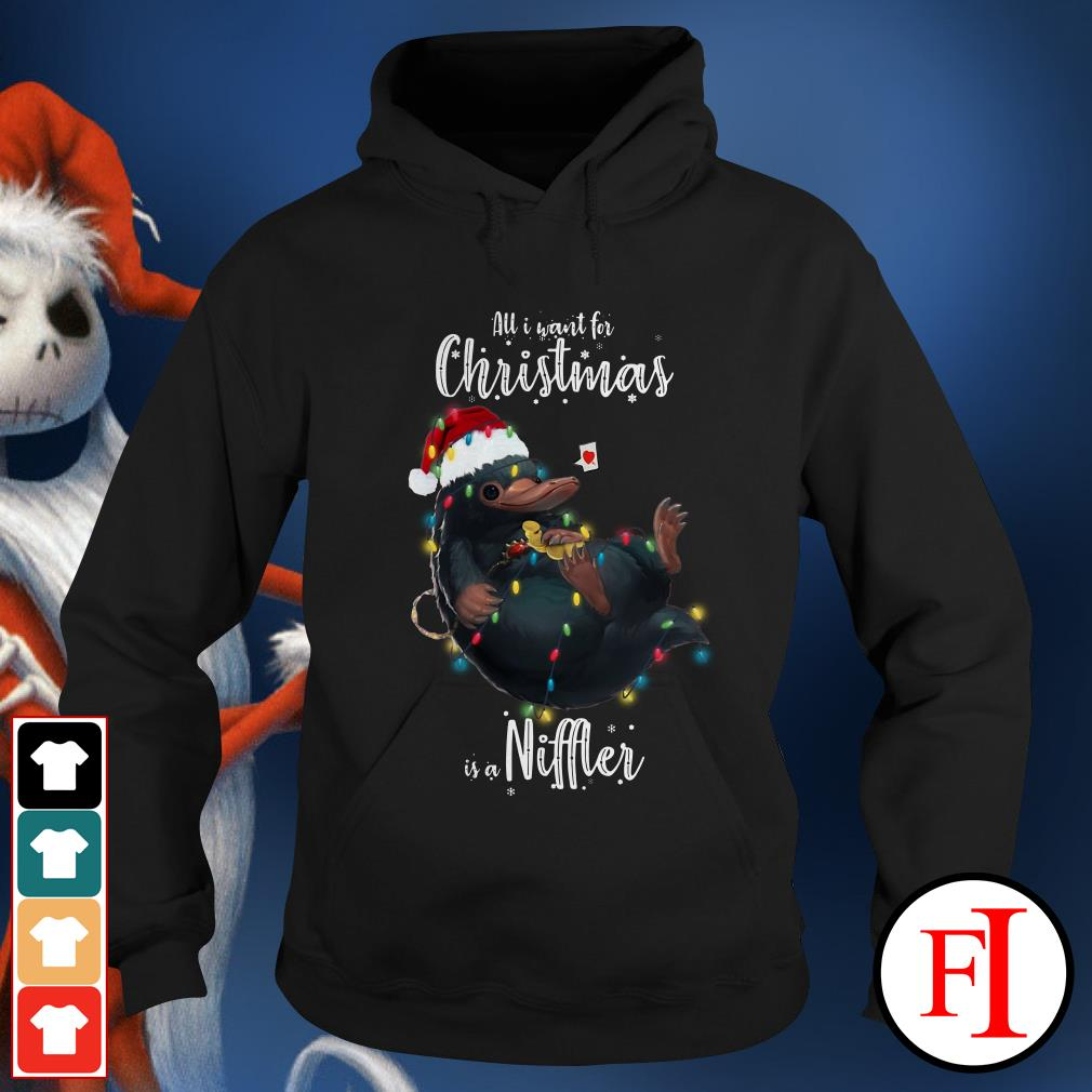 Niffler All I want for Christmas is a Hoodie