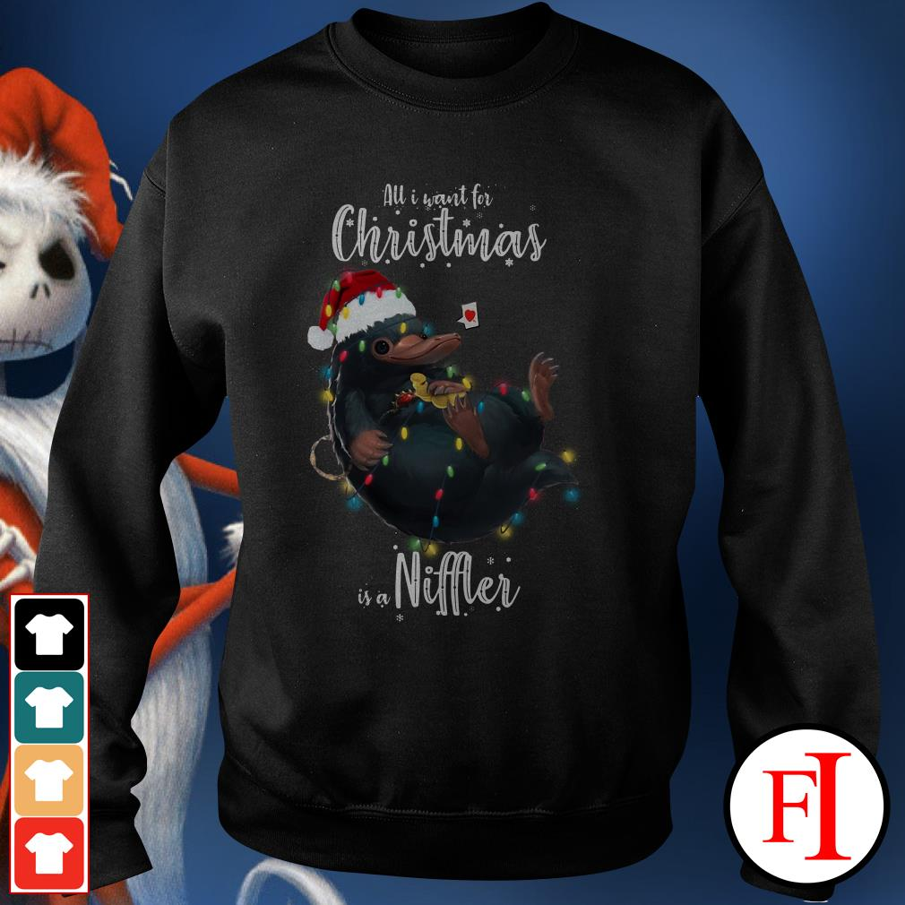 Niffler All I want for Christmas is a Sweater