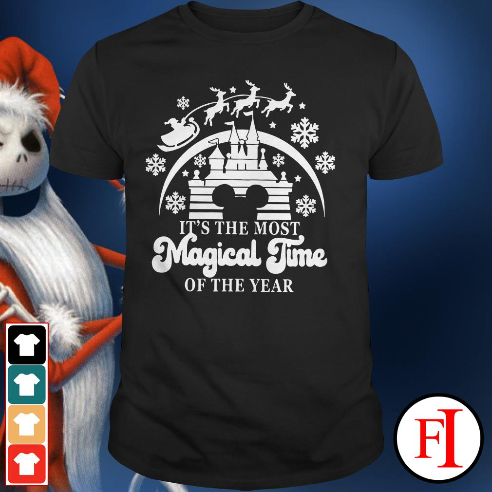 Official Disneyland Mickey Mouse it's the most magical time of the year Shirt