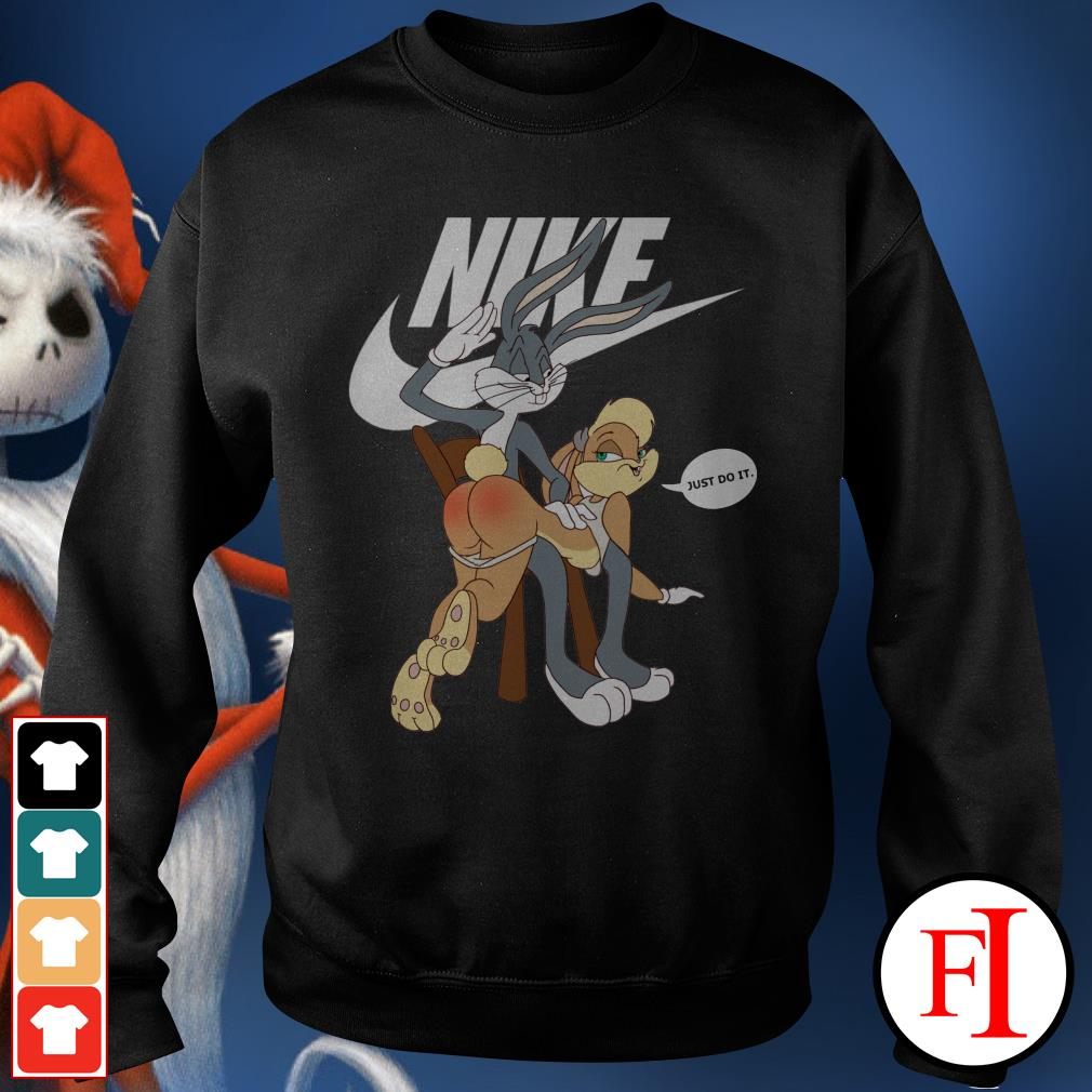 Official Nike Bugs Bunny spanking Lola Sweater