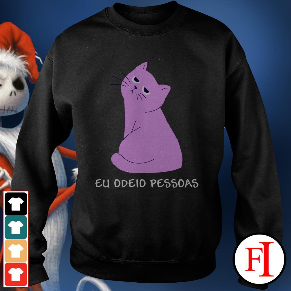 Official Pink cat eu odeid pessdas Sweater