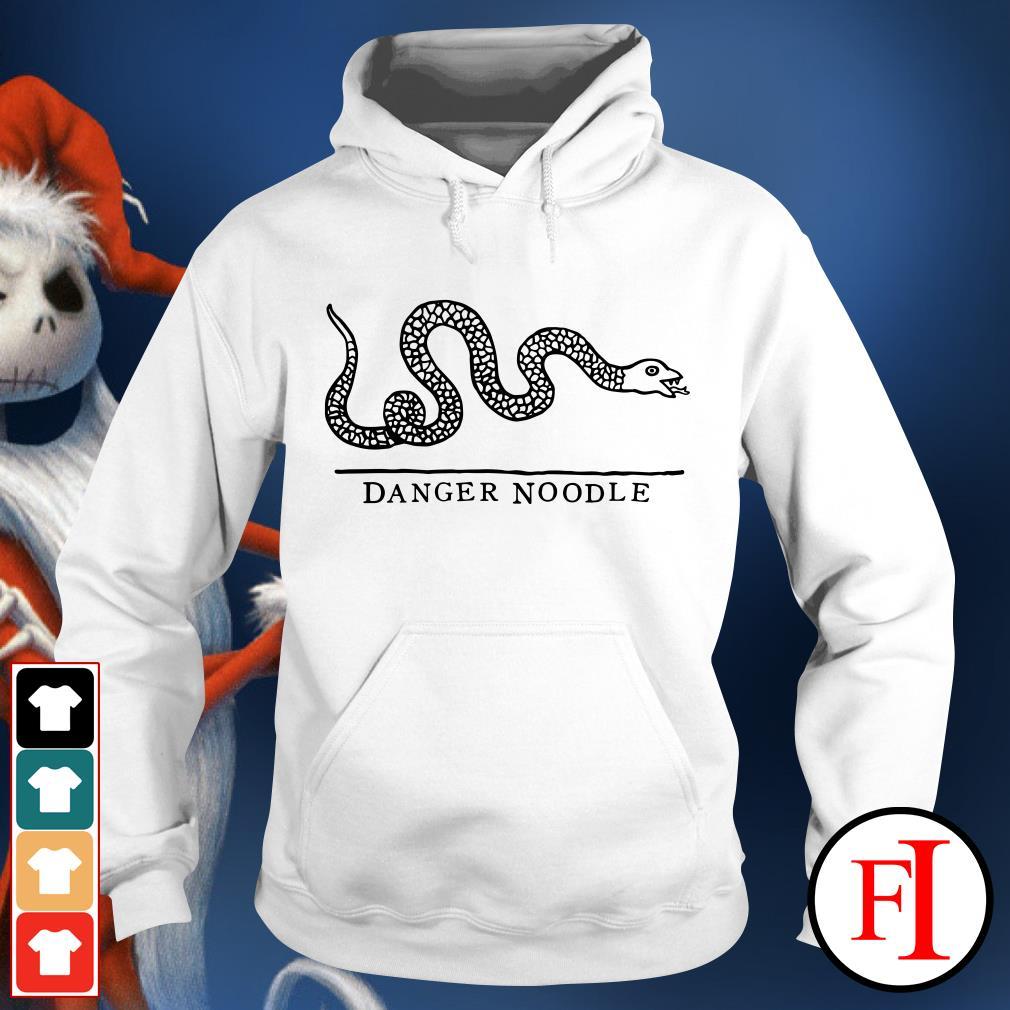 Official Snake danger noodle Hoodie
