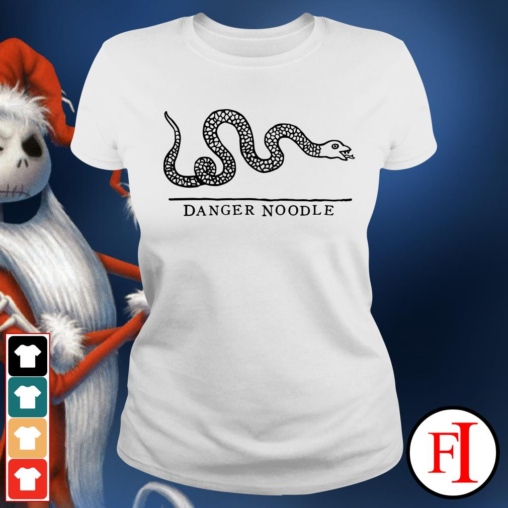 Official Snake danger noodle Ladies Tee