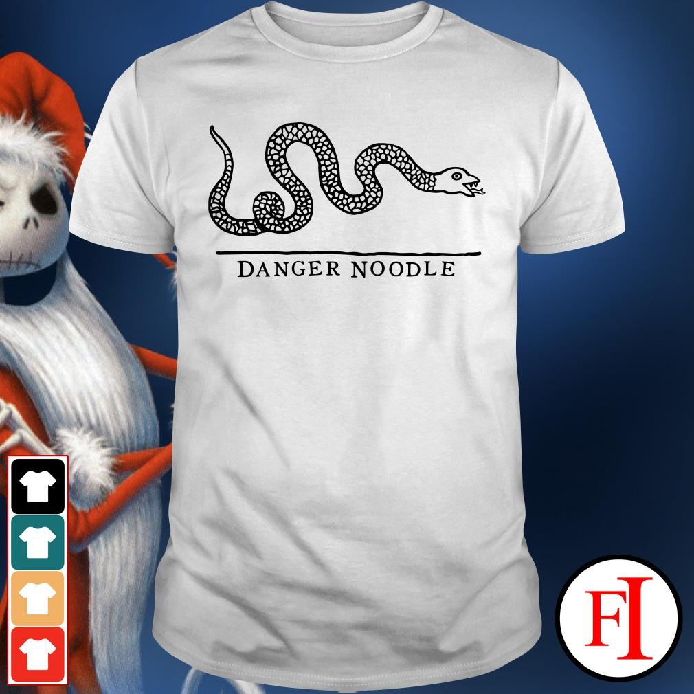 Official Snake danger noodle Shirt