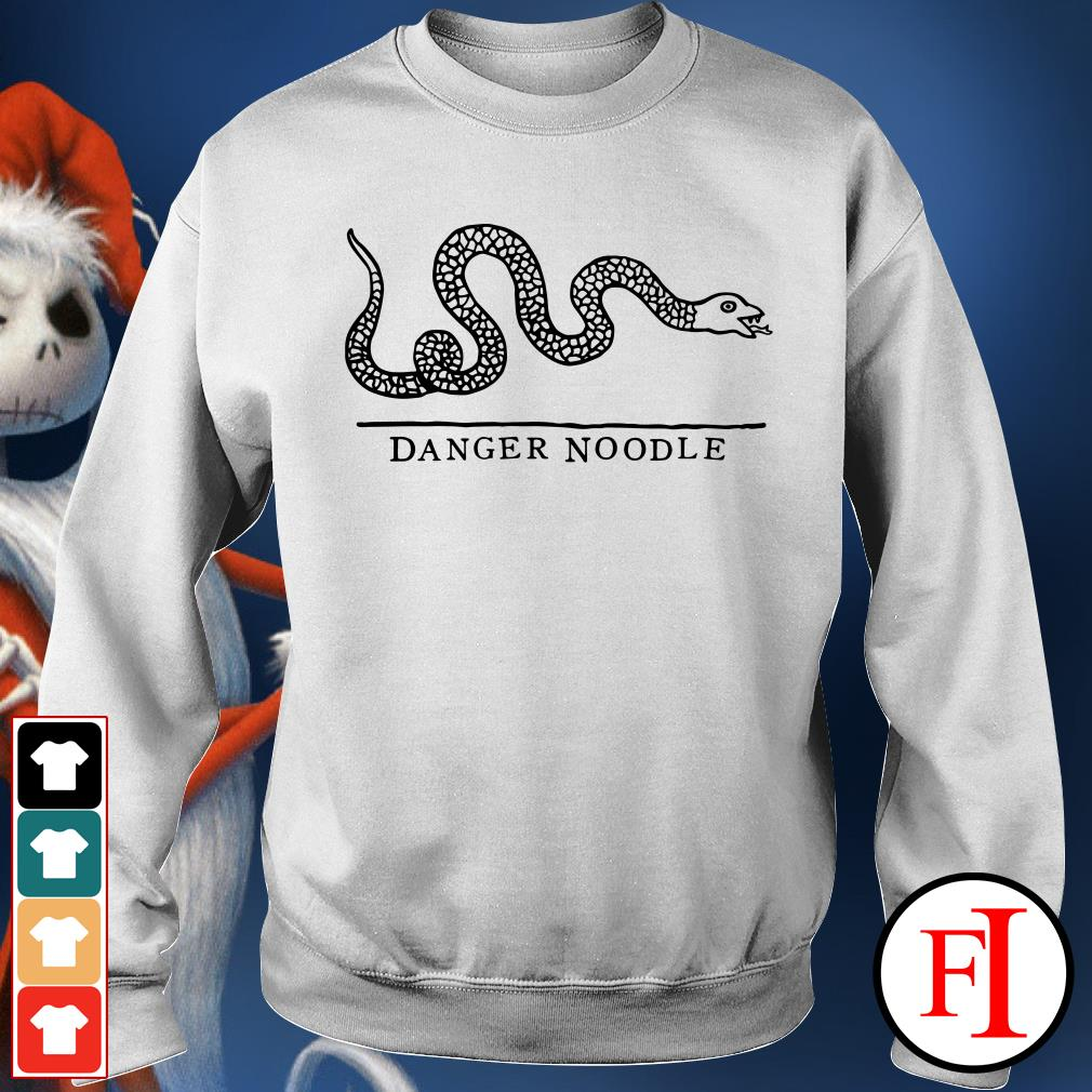 Official Snake danger noodle Sweater