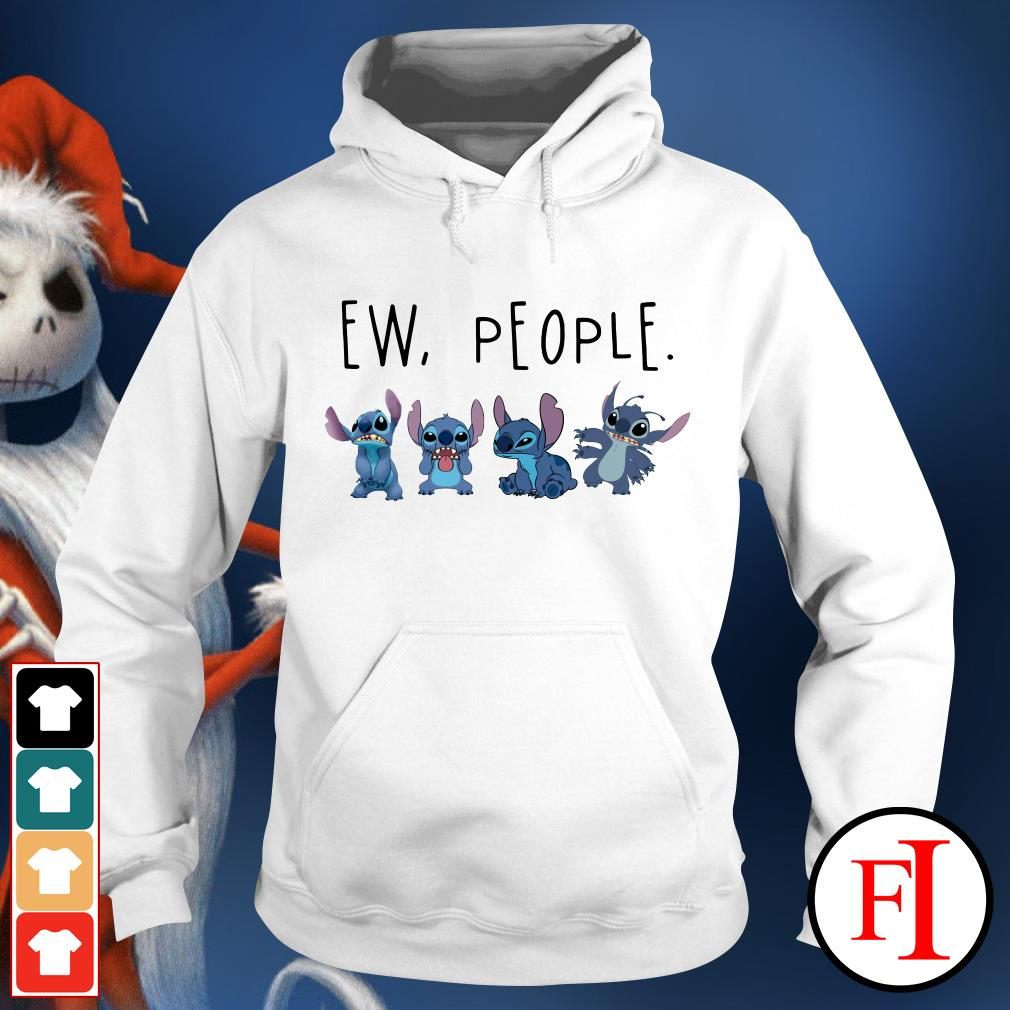 Official Stitch ew people Hoodie