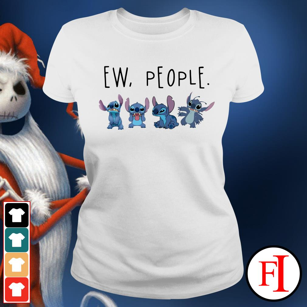 Official Stitch ew people Ladies Tee