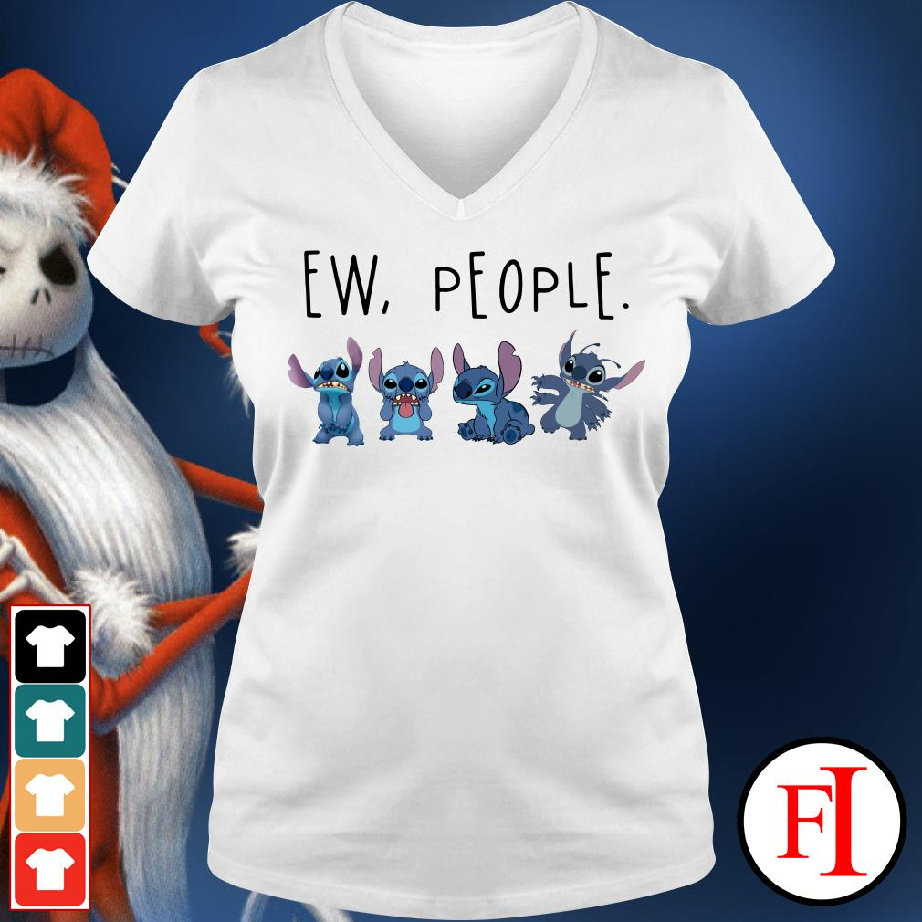 Official Stitch ew people V-neck t-shirt