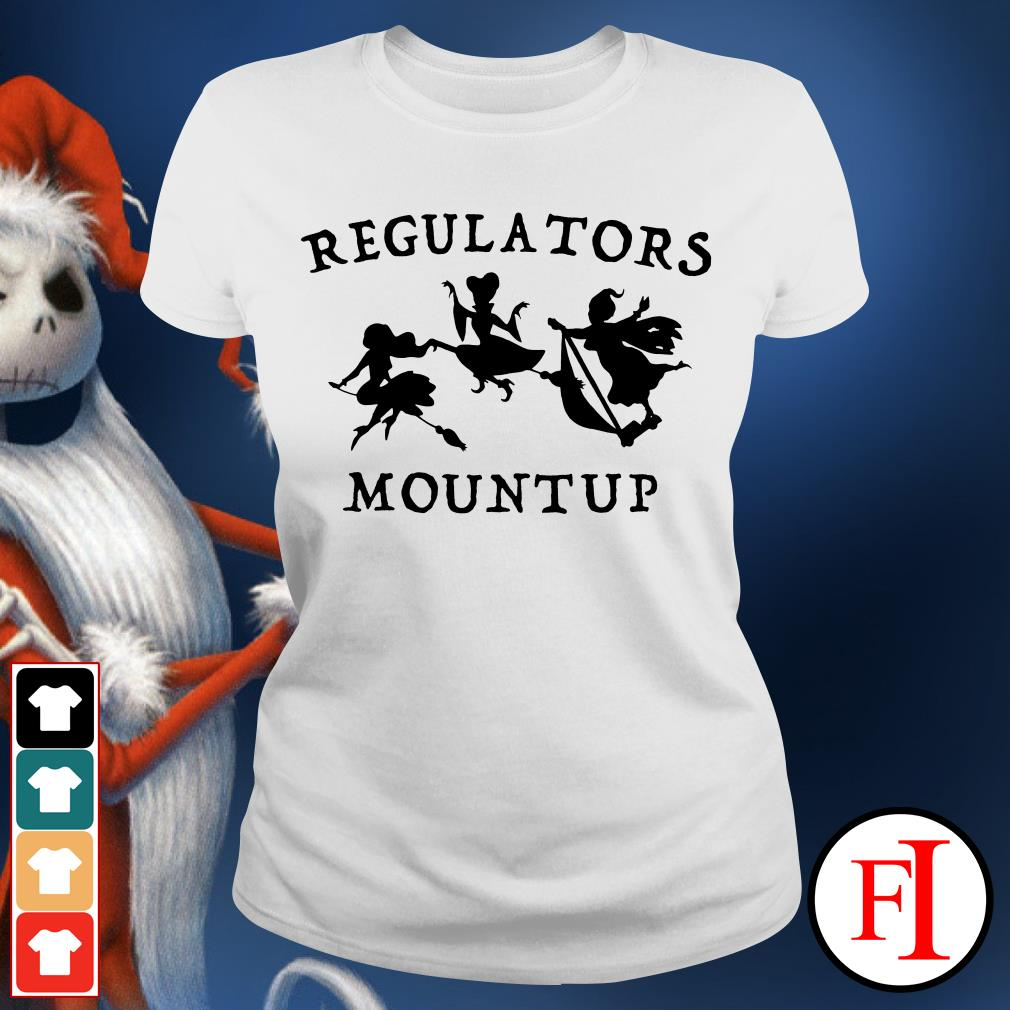 Regulators mount up Hocus Pocus Ladies Tee