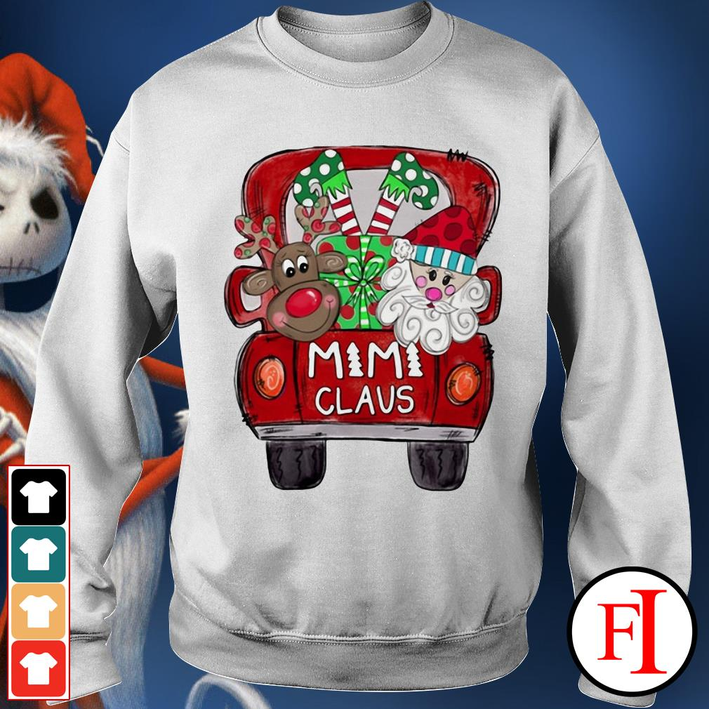Santa Claus Christmas truck Mimi Claus Sweater