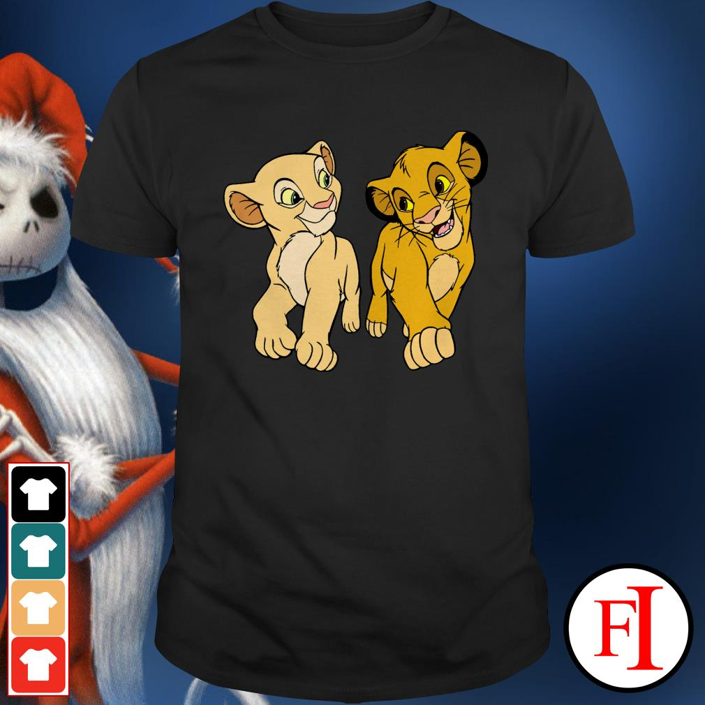 Simba and Nala Lion King Shirt