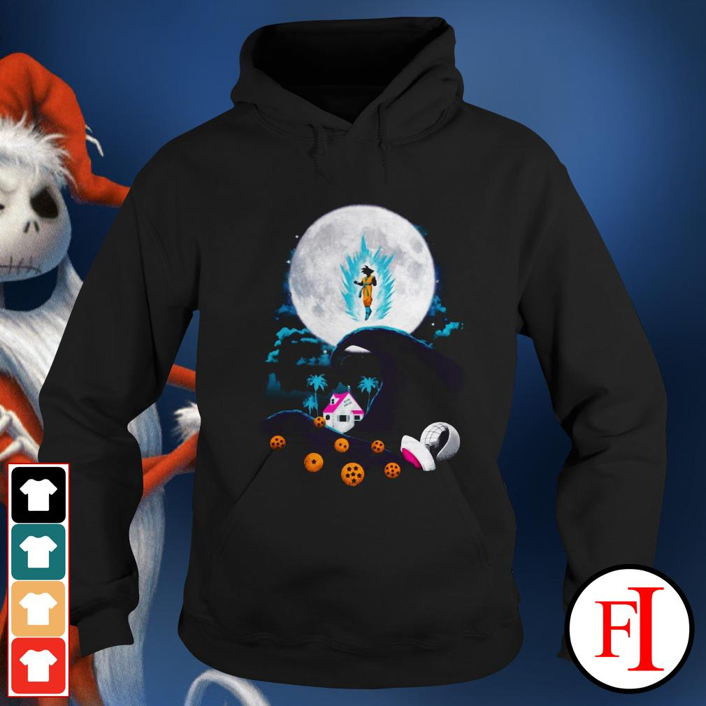 The nightmare before Christmas Dragon Ball Hoodie