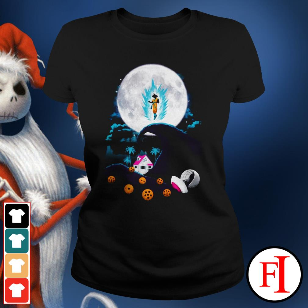 The nightmare before Christmas Dragon Ball Ladies Tee