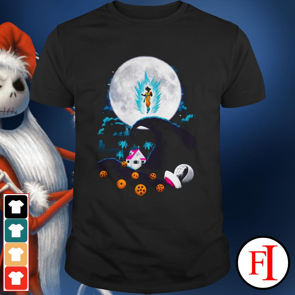 The nightmare before Christmas Dragon Ball Shirt