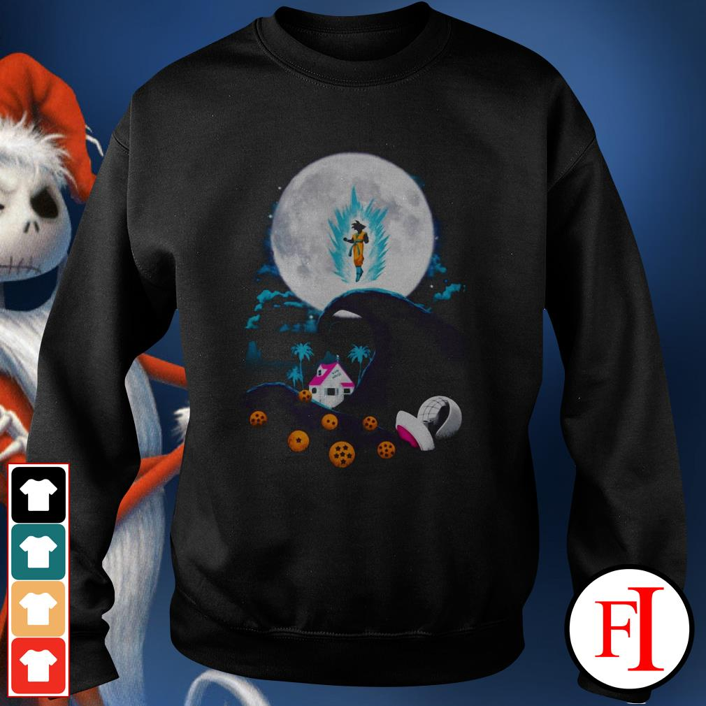The nightmare before Christmas Dragon Ball Sweater