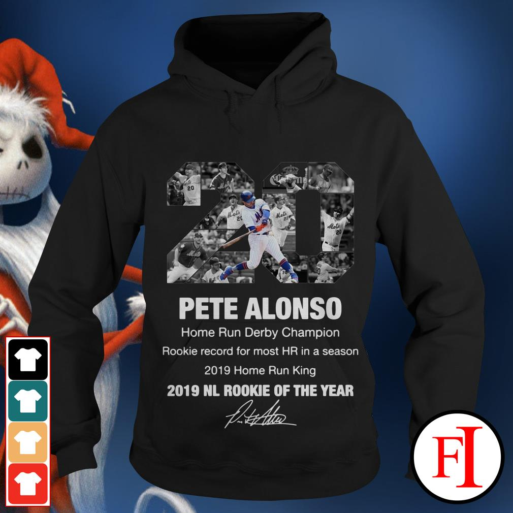 20 Pete Alonso 2019 NL Rookie of the year Hoodie