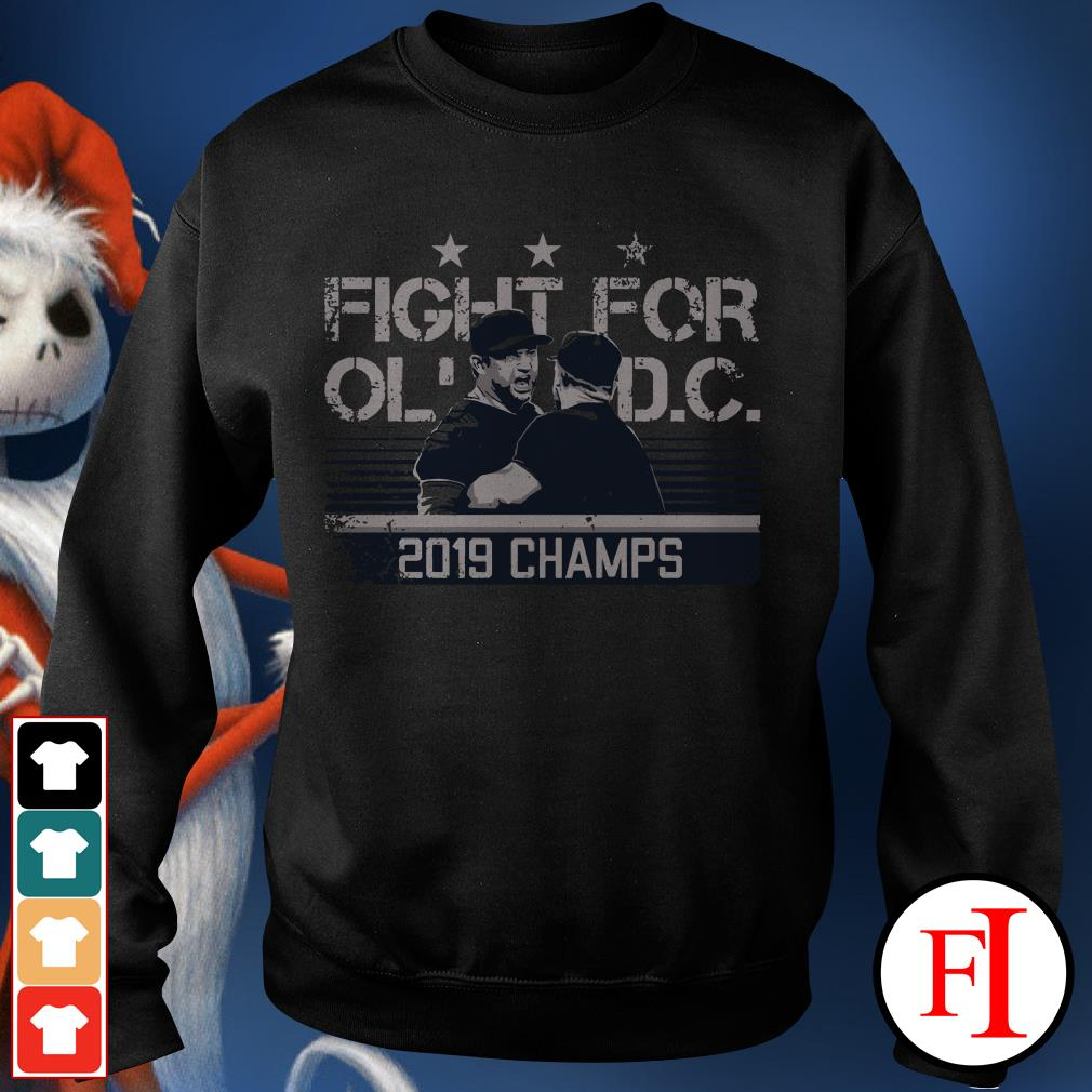 2019 champs Fight for old DC Sweater