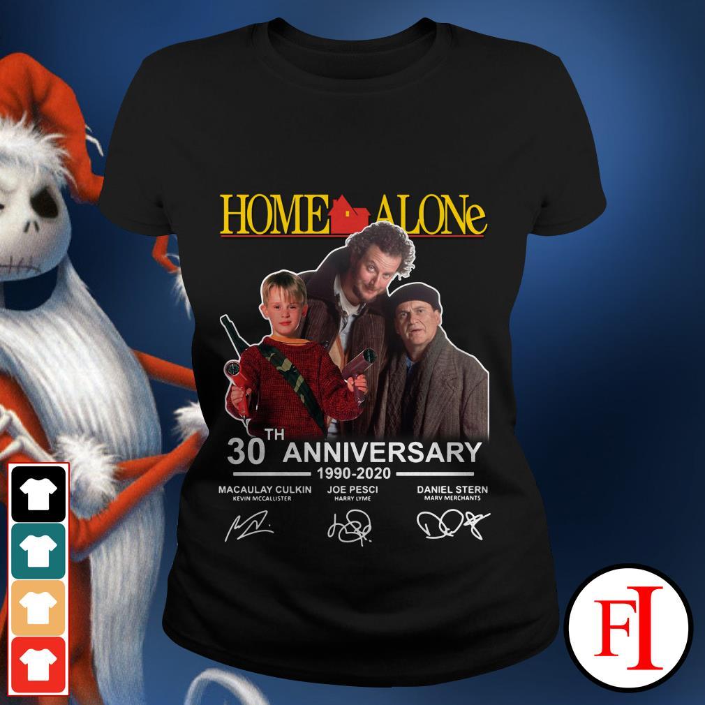 Home Alone 2020 Release Date.30th Anniversary Home Alone 1990 2020 Signature Shirt