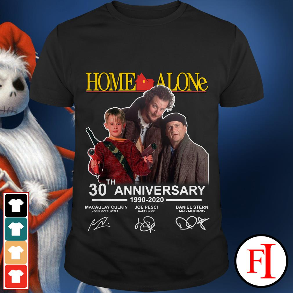 30th Anniversary Home Alone 1990 2020 signature shirt