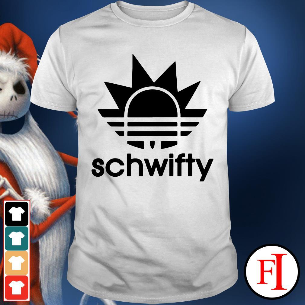 Adidas schwifty Rick Sanchez Shirt